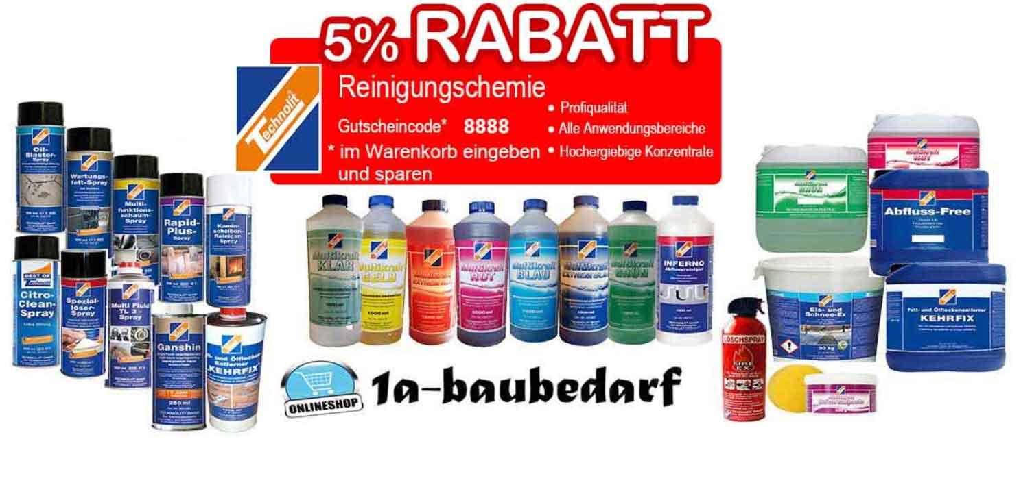 Rabattaktion Technolit 5 %